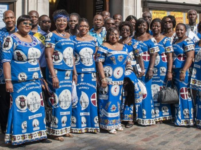 AMC Ghanaiain uk methodist choir