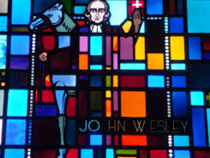 AMC John Wesley window