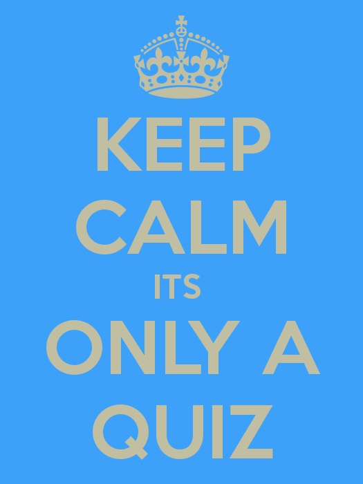 AMC Keep calm quiz