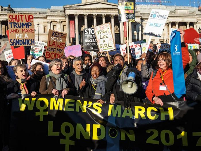 AMC Trump london march